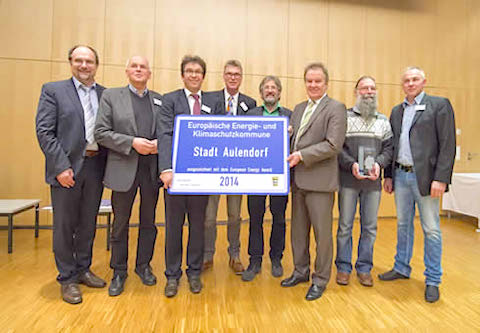 Verleihung European Energy Award